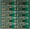 8Layers PCB Board HDI 3+2+3 ELIC, Half Hole VIP